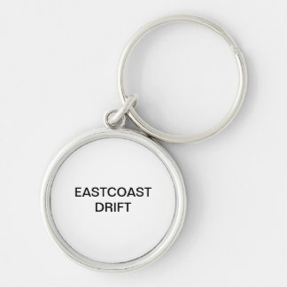 EASTCOAST DRIFT Silver-Colored ROUND KEY RING