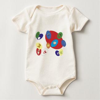 easter-2 baby bodysuit