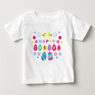 easter-2 chicks-stars-eggs baby T-Shirt