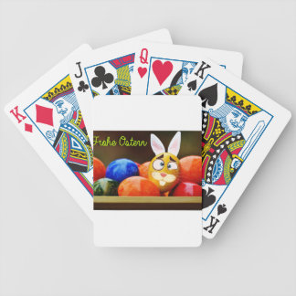 Easter #6 bicycle playing cards