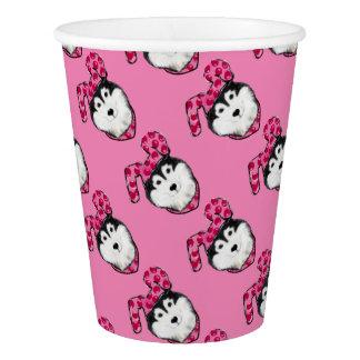 Easter Alaskan Malamute Paper Cup