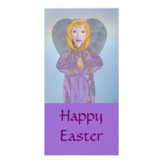 Easter Angel, Photo Card Template