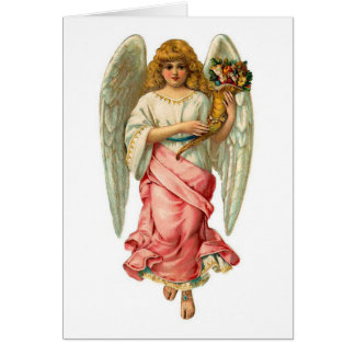 Easter Angel With Beautiful Wings Card