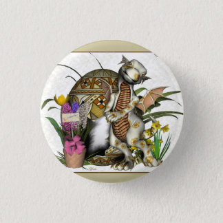 Easter Baby Dragon Badge/Button 3 Cm Round Badge