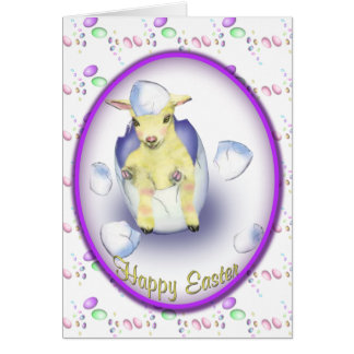Easter Baby Goat Card