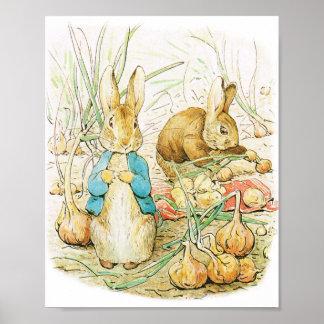 Easter , BABY SHOWER, RABBIT POSTER,  NURSERY Poster