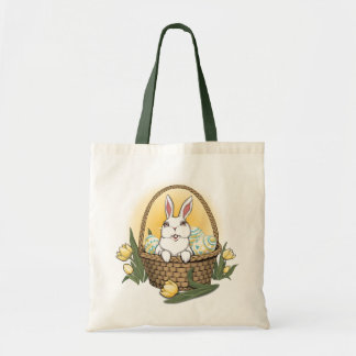 Easter Bag Tote Bag Easter Bunny Art Shopping Bag