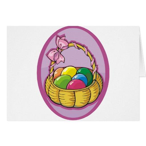 Easter Basket Greeting Cards