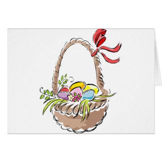 Easter Basket Greeting Card