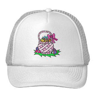 Easter Basket Mesh Hats