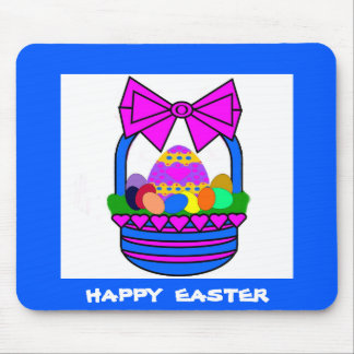 Easter Basket (Holiday) Mouse Pad