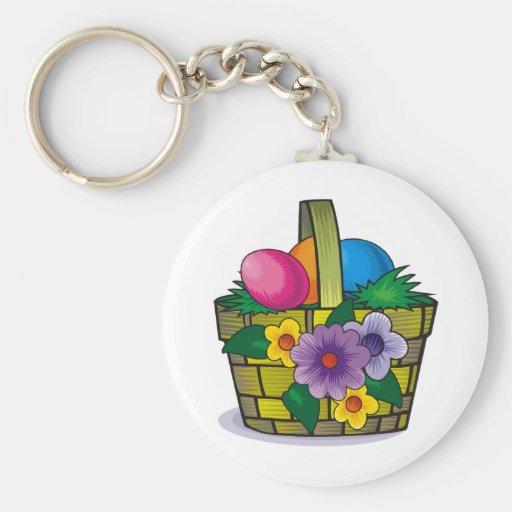 Easter Basket Key Chains