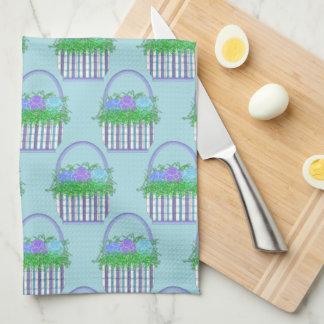 Easter Basket Kitchen Towel