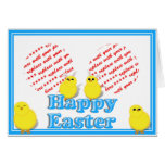 Easter Basket with Baby Chicks Photo Frame