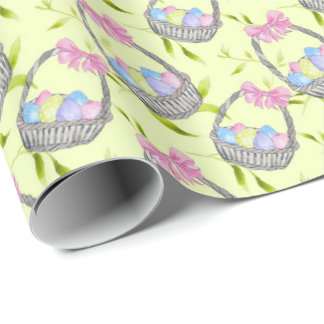 Easter Basket Wrapping Paper