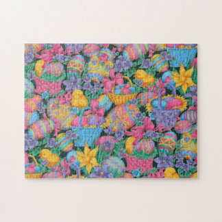 Easter Baskets and Eggs Jigsaw Puzzle