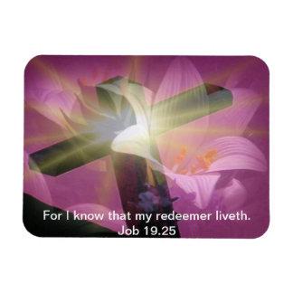 Easter bible verse Job 19:25 magnet