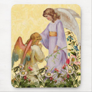 Easter Blessings Angel Mouse Pad