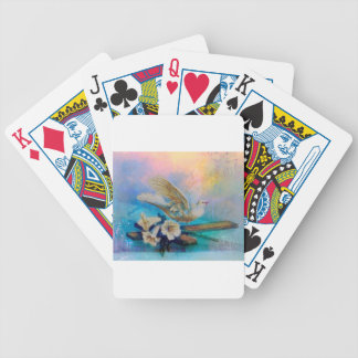 EASTER BLESSINGS AT THE WINDOWSILL BICYCLE PLAYING CARDS