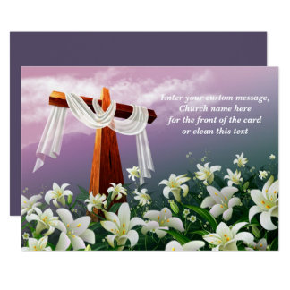 Easter Blessings. Christian Easter Cards