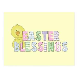 Easter Blessings T-shirts and Gifts Postcard