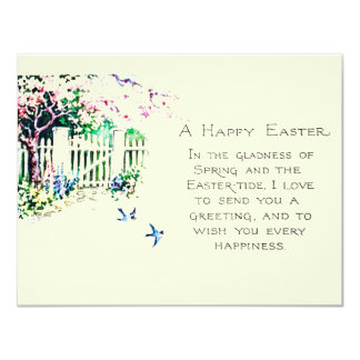 Easter Bluebirds at Eastertide Card