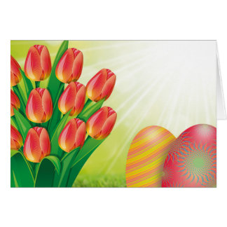Easter Bouquet Card
