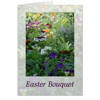 Easter Bouquet Greeting Card