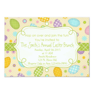 Easter Brunch 3.5x5 Paper Invitation Card
