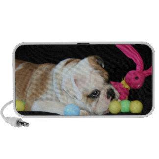 Easter bulldog puppy doodle speaker