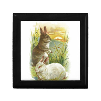 Easter Bunnies at Sunrise Gift Box