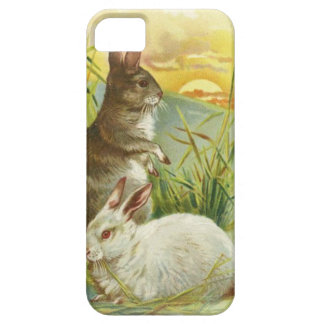 Easter Bunnies at Sunrise iPhone 5 Case