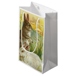 Easter Bunnies at Sunrise Small Gift Bag
