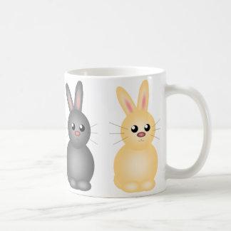 Easter Bunnies Basic White Mug