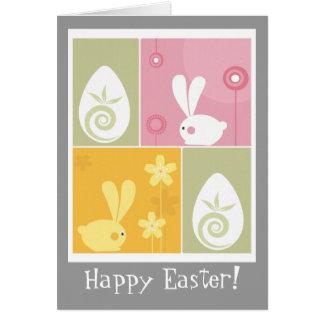 Easter Bunnies Card