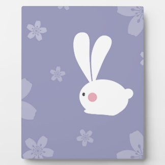 Easter Bunnies Display Plaque