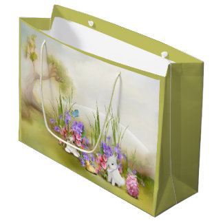 Easter Bunnies Large Gift Bag