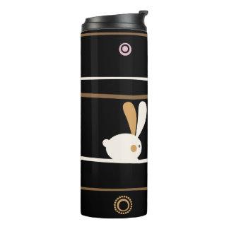 Easter Bunnies Modern Twist Design Thermal Tumbler