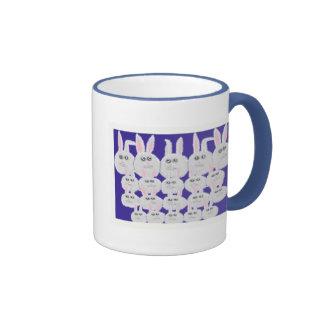 Easter Bunnies Ringer Mug
