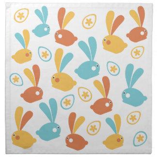 Easter Bunnies Napkin