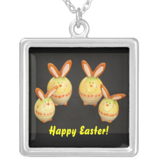 Easter Bunnies Necklace