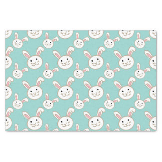 Easter Bunnies pattern Tissue Paper