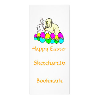 Easter Bunnies Personalized Rack Card