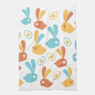 Easter Bunnies Tea Towel
