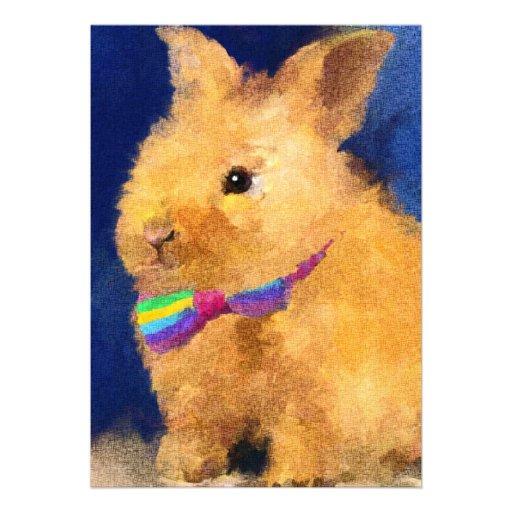 Easter Bunny 5x7 Mini Prints Invite
