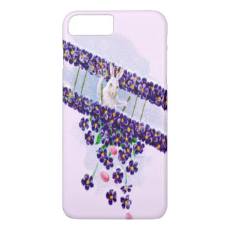 Easter Bunny Airplane Colored Egg iPhone 7 Plus Case