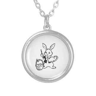 Easter Bunny and Basket Necklaces