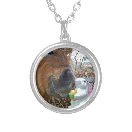 Easter Bunny and Brown horse Jewelry
