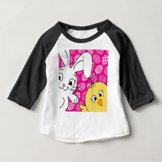 Easter bunny and chick baby T-Shirt