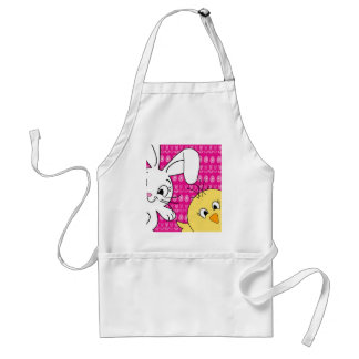 Easter bunny and chick standard apron
